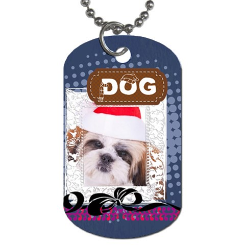 Pet By Betty   Dog Tag (one Side)   O7vnyjk1me9k   Www Artscow Com Front