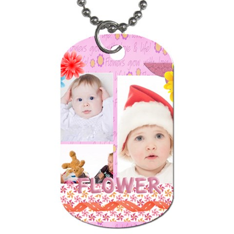 Kids By Betty   Dog Tag (one Side)   Vppxn5ucd5cg   Www Artscow Com Front