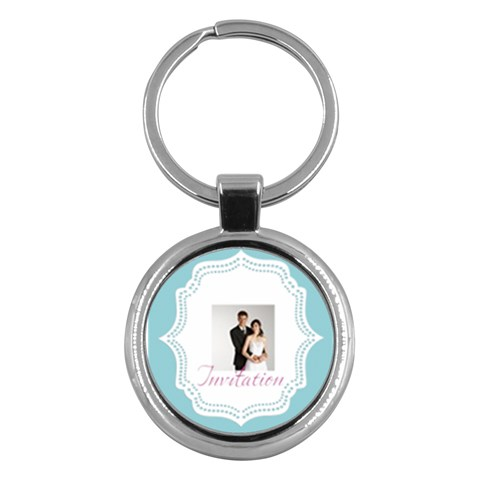 Wedding By Paula Green   Key Chain (round)   Qx1vtgz3hf5q   Www Artscow Com Front