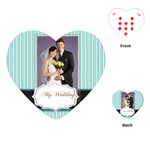 wedding - Playing Cards (Heart)