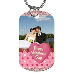 Love,memory, Happy, Fun  By Jacob   Dog Tag (two Sides)   5c0dgkhaohjd   Www Artscow Com Back