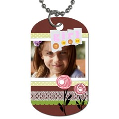 Kids, Love, Happy, Play, Fun, Child By Jacob   Dog Tag (two Sides)   0xro5vd3z2xp   Www Artscow Com Front