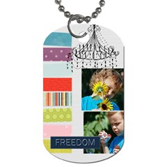Kids, Fun, Child, Play, Happy By Jacob   Dog Tag (two Sides)   Sbs3x0nhj8je   Www Artscow Com Back