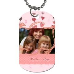 Mothers Day By Jacob   Dog Tag (two Sides)   0g3nvpiskb7c   Www Artscow Com Back
