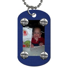 Fordavid By Allison Buice   Dog Tag (two Sides)   Ordkayydhaw4   Www Artscow Com Back