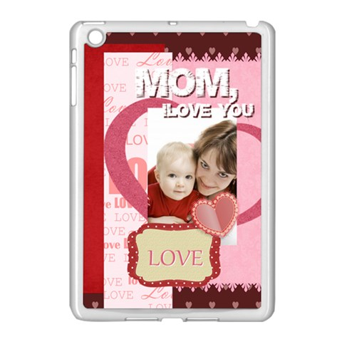 Mothers Day By Joely   Apple Ipad Mini Case (white)   6u8ulgddbkdp   Www Artscow Com Front