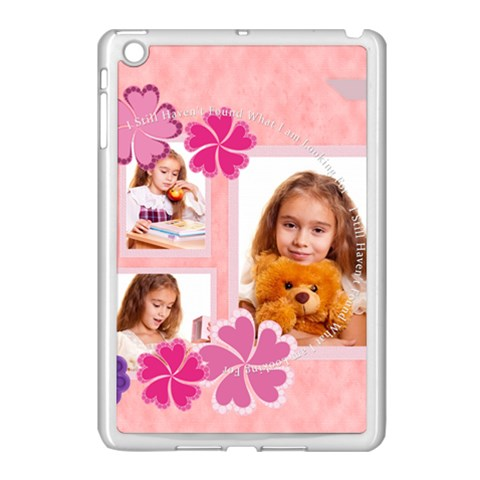 Mothers Day By Joely   Apple Ipad Mini Case (white)   Vt880yf9mtl2   Www Artscow Com Front