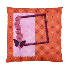 Cushion Butterfly By Shelly   Standard Cushion Case (two Sides)   Nxka17pmiam3   Www Artscow Com Front