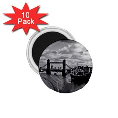 River Thames Waterfall 10 Pack Small Magnet (round) by Londonimages