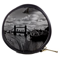River Thames Waterfall Mini Makeup Case by Londonimages