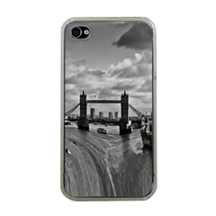 River Thames Waterfall Apple Iphone 4 Case (clear) by Londonimages