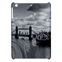River Thames Waterfall Apple Ipad Mini Hardshell Case by Londonimages