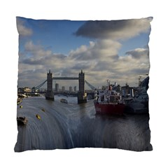 Thames Waterfall Color Twin Sided Cushion Case