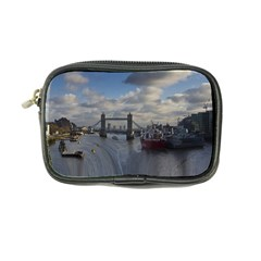 Thames Waterfall Color Ultra Compact Camera Case by Londonimages