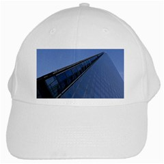 The Shard London White Baseball Cap by Londonimages