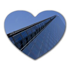 The Shard London Mouse Pad (heart) by Londonimages