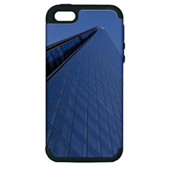 The Shard London Apple Iphone 5 Hardshell Case (pc+silicone) by Londonimages