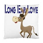 Longear love Cushion Case (Two Sides)