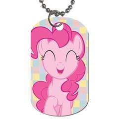 Pinkie Pie/fluttershy My Little Pony Dog Tag (2 Sided) By Jerrod Barton   Dog Tag (two Sides)   Za15yxq1brsw   Www Artscow Com Front