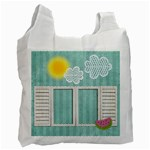 Delicious and Summerly Recycle bag (one side)