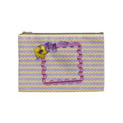 Springfair Bag By Shelly   Cosmetic Bag (medium)   853fnbpkgiro   Www Artscow Com Front