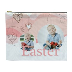 Easter By Easter   Cosmetic Bag (xl)   V3f312in6hdt   Www Artscow Com Front