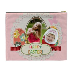 Easter By Easter   Cosmetic Bag (xl)   4f3itw7irnr9   Www Artscow Com Back