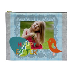 Easter By Easter   Cosmetic Bag (xl)   Thfxrtu28o21   Www Artscow Com Front