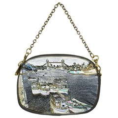 River Thames Art Single Sided Evening Purse by Londonimages