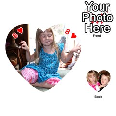 Cards Lily By Rose Springer   Playing Cards 54 (heart)   T5ef4boxfi4u   Www Artscow Com Front - Heart8