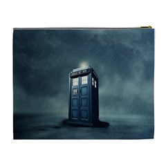 Tardis Bag By John Duffy   Cosmetic Bag (xl)   8gknsdu5b9eh   Www Artscow Com Back