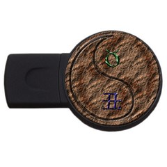 Taurus / Yin Earth Ox USB Flash Drive Round (1 GB) by whatsyoursign