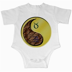 Taurus / Yin Metal Ox Infant Creeper by whatsyoursign