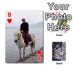 54 Playing Cards By Katherine Fung   Playing Cards 54 Designs   W14rf8klz28d   Www Artscow Com Front - Heart8