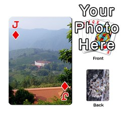 Jack 54 Playing Cards By Katherine Fung   Playing Cards 54 Designs   W14rf8klz28d   Www Artscow Com Front - DiamondJ