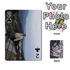 54 Playing Cards By Katherine Fung   Playing Cards 54 Designs   W14rf8klz28d   Www Artscow Com Front - Club2