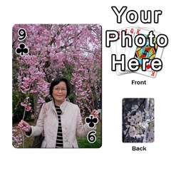 54 Playing Cards By Katherine Fung   Playing Cards 54 Designs   W14rf8klz28d   Www Artscow Com Front - Club9