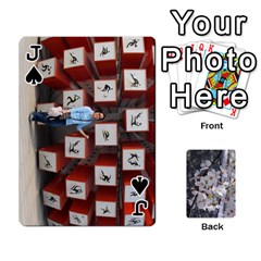 Jack 54 Playing Cards By Katherine Fung   Playing Cards 54 Designs   W14rf8klz28d   Www Artscow Com Front - SpadeJ