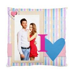 Love By Ki Ki   Standard Cushion Case (two Sides)   D3uudnoz92hh   Www Artscow Com Back