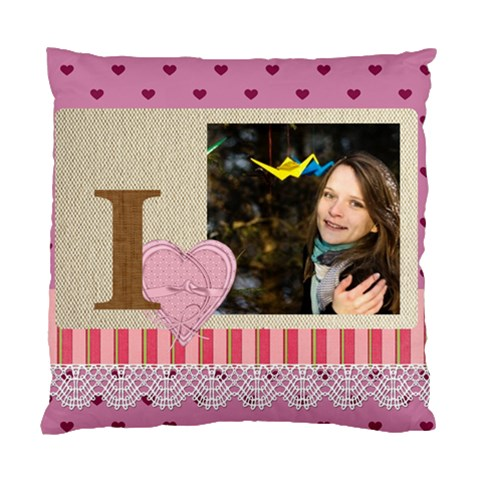 Love By Ki Ki   Standard Cushion Case (one Side)   P2i11dp864l3   Www Artscow Com Front