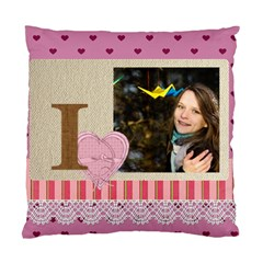 Love By Ki Ki   Standard Cushion Case (two Sides)   Zhj5axo2ouvb   Www Artscow Com Back