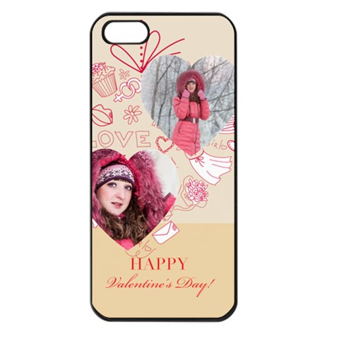 Love By Ki Ki   Apple Iphone 5 Seamless Case (black)   7njgtivm4j1u   Www Artscow Com Front