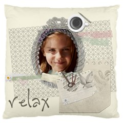Kids, Fun, Child, Play, Happy By Jacob   Large Cushion Case (two Sides)   Eyvizkxz0skr   Www Artscow Com Front