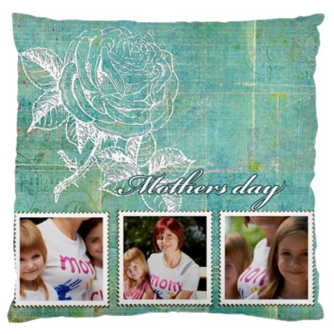 Mothers Day By Jacob   Large Cushion Case (one Side)   Xptvkdgzqx7n   Www Artscow Com Front