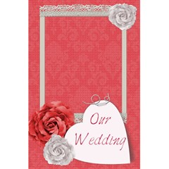 Our Wedding Planner Notebook By Zornitza   5 5  X 8 5  Notebook   H5bb54h67wem   Www Artscow Com Front Cover