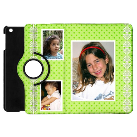 Little Princess Apple Ipad Mini Flip Case 360 By Deborah   Apple Ipad Mini Flip 360 Case   97qbwcxm9sx3   Www Artscow Com Front