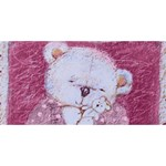 Teddy Hugs 3D Greeting Card - HUGS 3D Greeting Card (8x4)