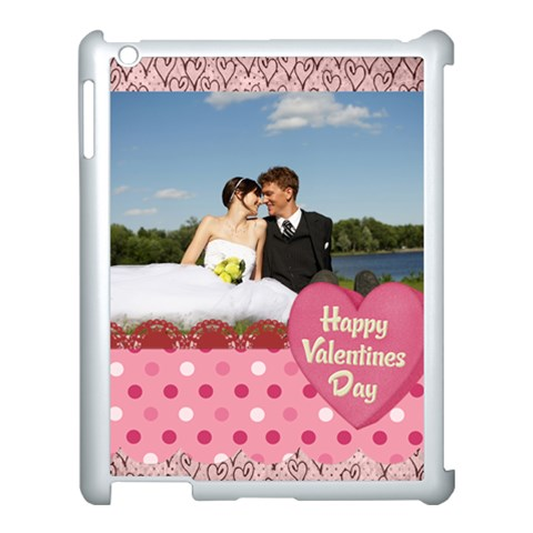 Love, Kids, Happy, Fun, Family, Holiday By Jacob   Apple Ipad 3/4 Case (white)   8ptfd3wpy1go   Www Artscow Com Front
