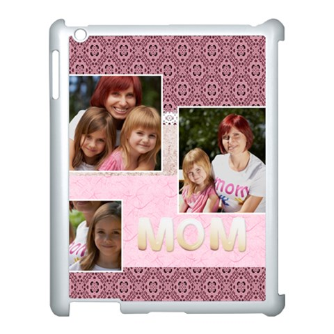 Mothers Day By Jacob   Apple Ipad 3/4 Case (white)   Ckqwt51lmcxe   Www Artscow Com Front