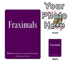 Fraximals With Decimals St 2 Pt 2 By Sarah   Multi Purpose Cards (rectangle)   Jrzs0ddfm6pf   Www Artscow Com Back 6